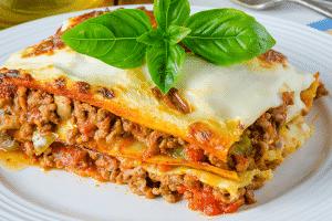 dinner-lasagna