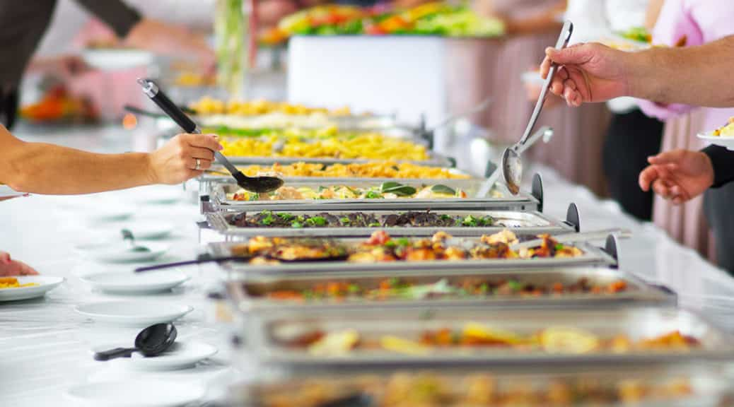 New York Catering Company Food